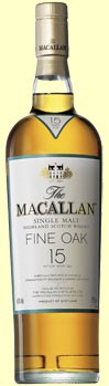 Macallan malt whiskey
